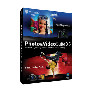 Photo of Corel Photo & Video Suite X5 Software