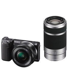 Sony NEX-5RY with 16-50mm and 55-210mm Lenses kit Reviews