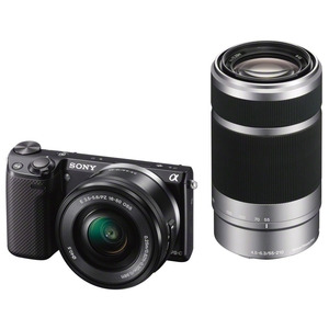 Photo of Sony NEX-5RY With 16-50MM and 55-210MM Lenses Kit Digital Camera