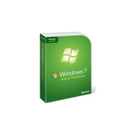 Microsoft Windows 7 Home Premium Upgrade (3 user license)