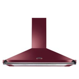 Rangemaster 44610 Classic 100cm Chimney Hood With Rail In Cranberry Reviews