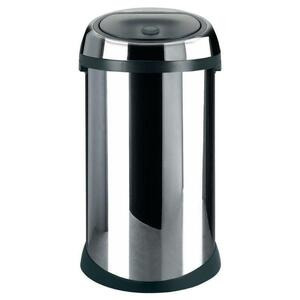 Photo of Brabantia Chrome Touch Bin - 50 Litre Bin