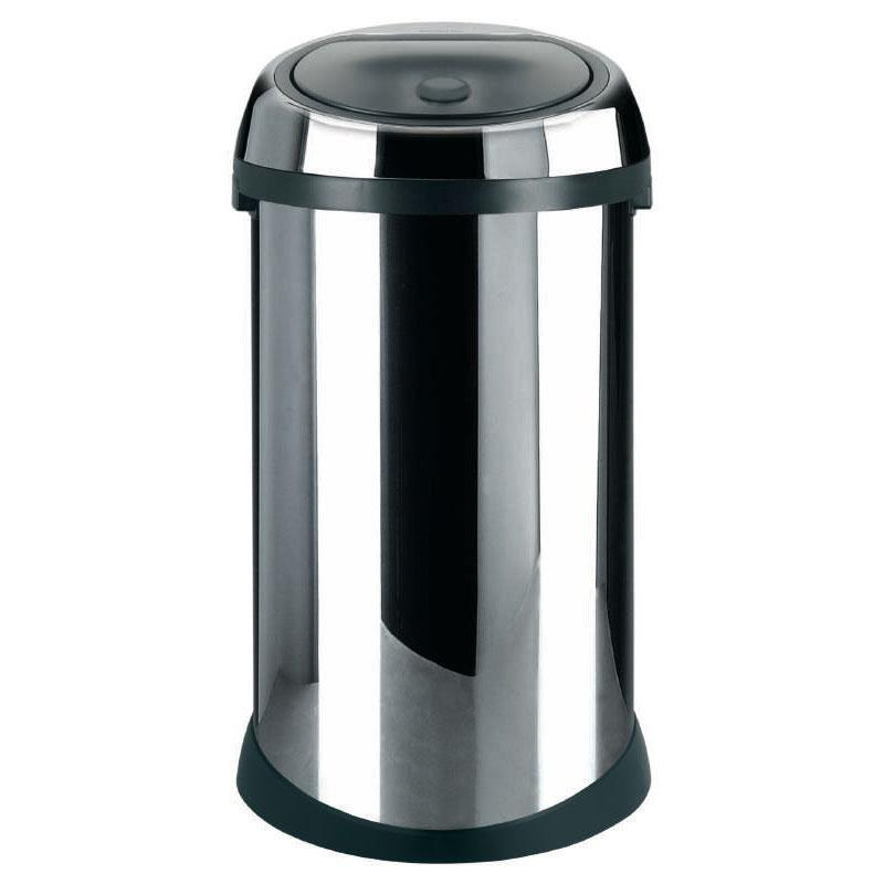 Brabantia Touch Bin Chroom.Brabantia Chrome Touch Bin 50 Litre Reviews Compare