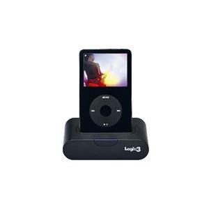 Photo of Logic 3 MIP116K iPod Universal Dock With Ir Remote Black iPod Dock