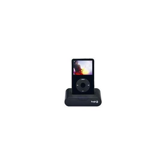 Logic 3 MIP116K iPod Universal Dock With Ir Remote Black