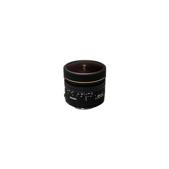 Sigma 8mm f3.5 EX DG Circular Fisheye (Canon mount)