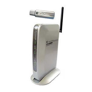 Photo of Dyna BR 6004W G1 U 4 Port Wireless Cable DSL Router With USB Wireless Adapter Router
