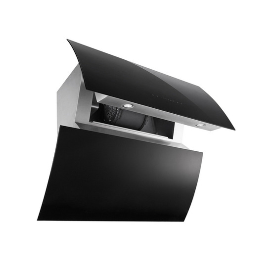 Baumatic BEO910BGL Chimney Cooker Hood - Stainless Steel