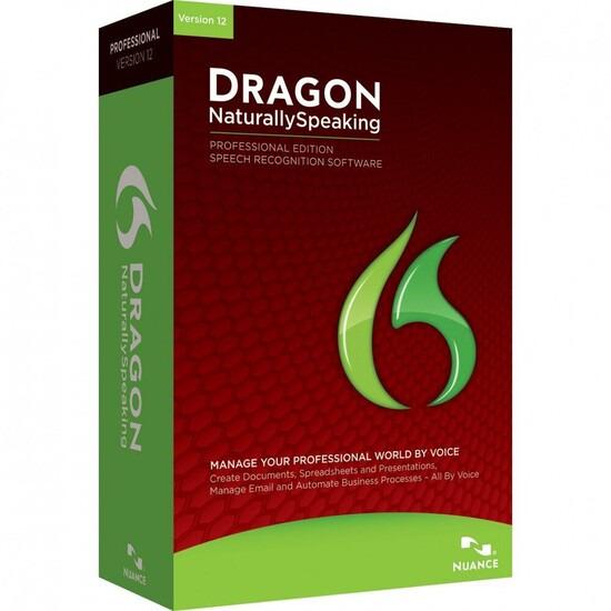 Dragon NaturallySpeaking 12 Professional