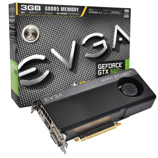 EVGA GeForce GTX 660 Ti+ 3GB