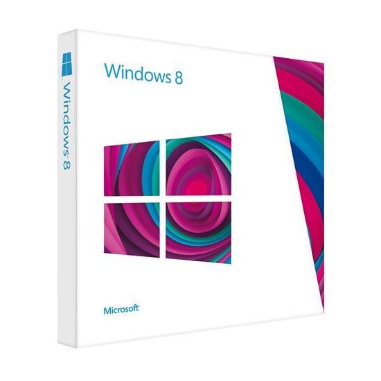 Microsoft Windows 8 Pro 64-bit (1PC)