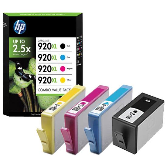 HP 920XL C/M/Y/K
