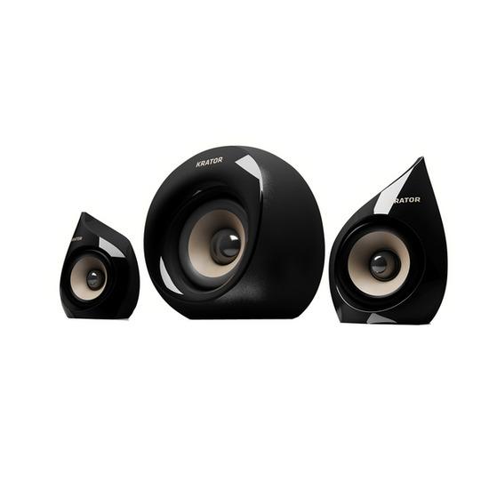 KRATOR N4-21U12B Neso 4 Minimalist 2.1 PC Speakers