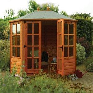 Photo of Victorian Octagonal Summerhouse Garden Furniture