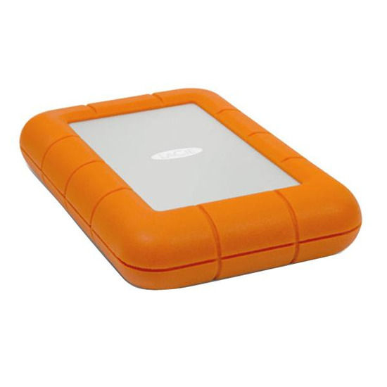 LACIE Rugged USB3 Thunderbolt External Portable SSD -120 GB