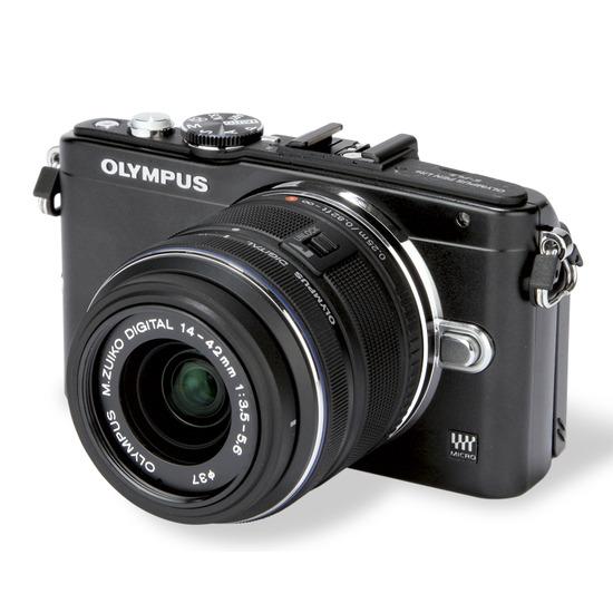 Olympus PEN Lite E-PL5 with 14-42 mm Lens