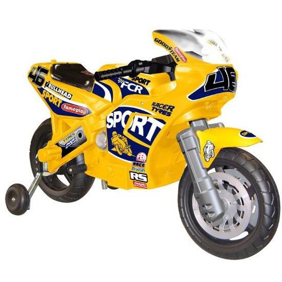 FAMOSA Superbike Racing Yellow 6v