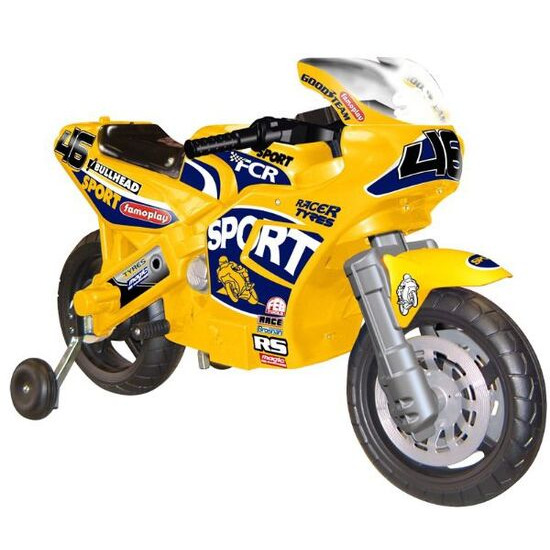 FAMOSA Superbike Racing Yellow 6v