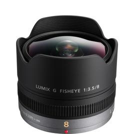 Panasonic H-F008E Lumix 8 mm f/3.5 Fisheye Lens