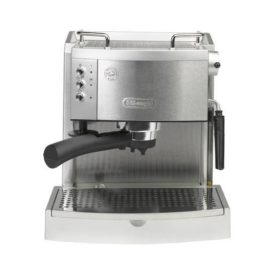 DeLonghi EC710 Espresso Machine - Silver & Stainless Steel