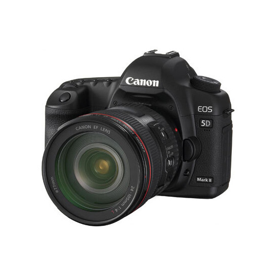 Canon EOS 5D Mark II with 24-70mm lens