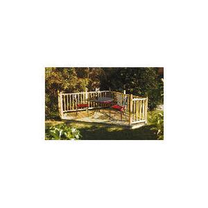 Photo of Decking & Balustrade Kit Garden Furniture