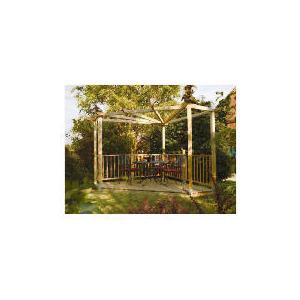 Photo of Decking, Balustrade & Pergola Kit Garden Furniture