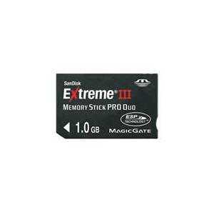 Photo of 1GB Extreme III Memory Stick PRO Duo Memory Card