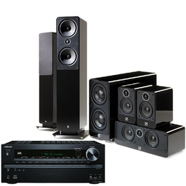 Onkyo TX-NR616 Amplifier + Q Acoustics + QED  Cable