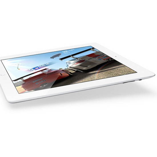 Apple iPad with retina display  Wi-Fi white 16GB