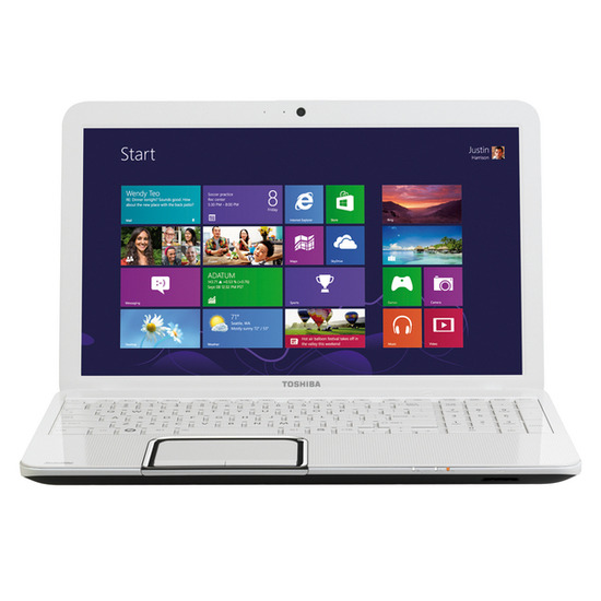 "Toshiba Satellite L850-1LK 15.6"" Laptop - White"