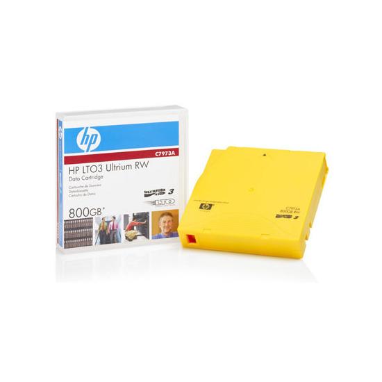 Hewlett-Packard LTO-3 Ultrium 800GB RW Data Cartridge - Each