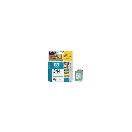 Ink Cartridge No 344 (2 Pack) 3-clr 14ml