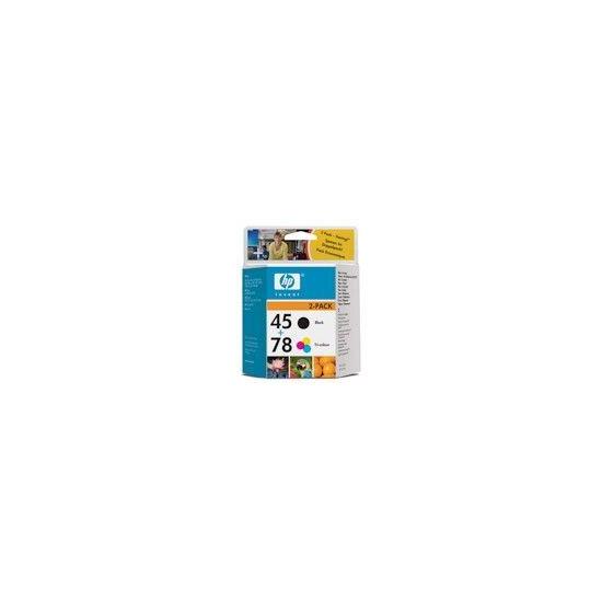 HP Ink Cartridge Combo Pack No 45  + No 78