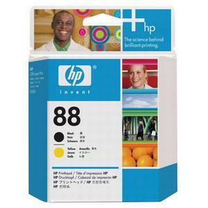 Photo of HP 88 Black and Yellow Original Printhead C9381A  Printer Accessory