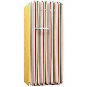 Photo of Smeg FAB28QCS 50's Retro Style (Colour Stripes + Right Hinge) Fridge