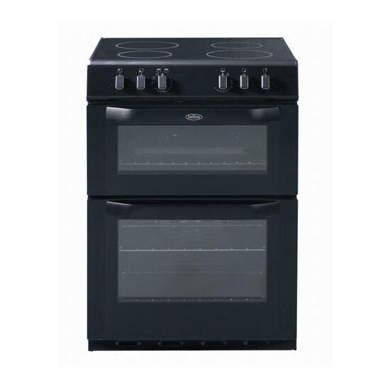 Belling FSE60DO Electric Cooker - Black