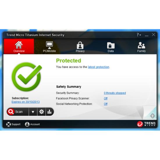 Trend Titanium Internet Security 2013