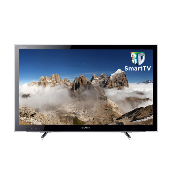 "Sony BRAVIA KDL-32HX753BU Full HD 32"" LED 3D TV with Free BDPS490B.CEK 3D Blu-ray Player"