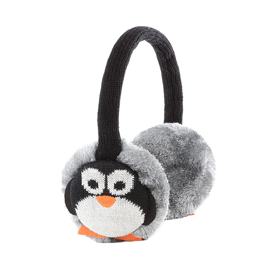 KITSOUND KSMUFPEN Animal Earmuff Headphones - Penguin