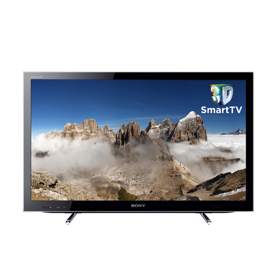 "SONY BRAVIA KDL-40HX753BU Full HD 40"" LED 3D TV with NSZ-GS7B Google TV Box - 8 GB"