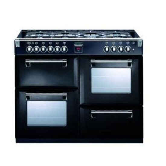Stoves Richmond 1100DFT Dual Fuel Range Cooker - Black - Trade-in offer