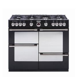 Stoves Sterling R1000GT Gas Range Cooker - Black - Trade-in offer