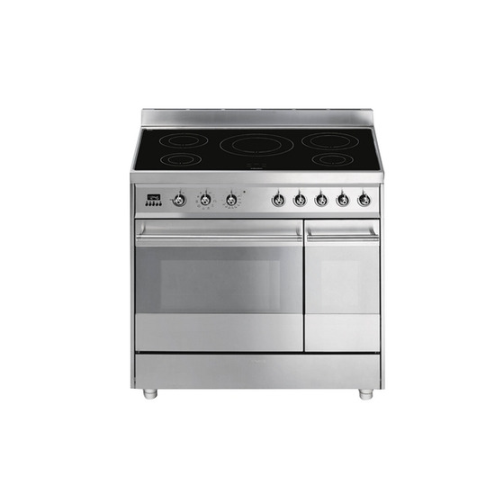 Smeg SY92IPX8 Electric Range Cooker - Stainless Steel - Trade-in offer