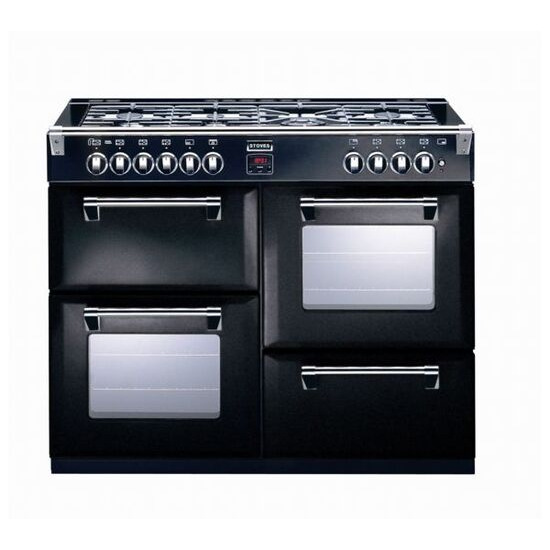 Stoves Richmond 1100G Gas Range Cooker - Black - Trade-in offer