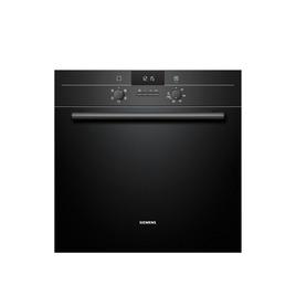SIEMENS iQ100 HB13AB622B Electric Oven - Black