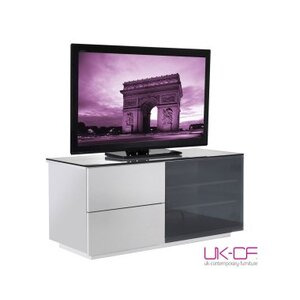 Photo of UK-CF High Gloss White TV Cabinet TV Stands and Mount