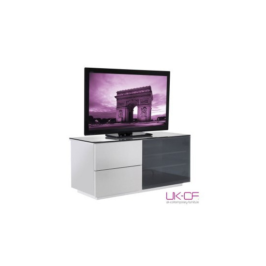 UK-CF High Gloss White TV Cabinet