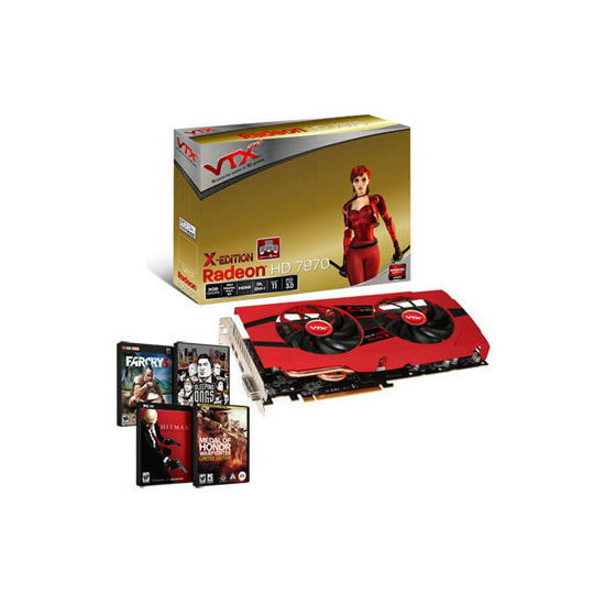 ScanFX Radeon HD 7970 X-Edition AMD/ATI Graphic Card - 3GB