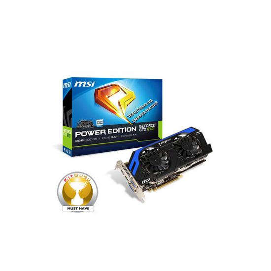 MSI GeForce GTX 670 2GB GDDR5